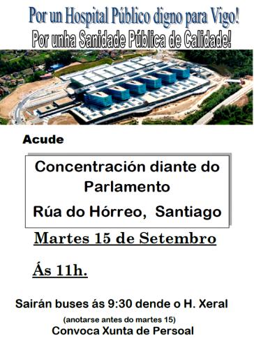 CATAZ HOSPITAL VIGO SETEMBRO 2015